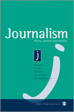 Journalism: Theory, Practice and Criticism